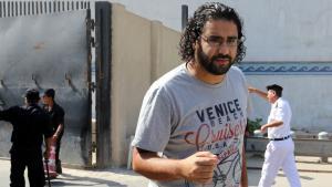 الناشط السياسي المصري علاء عبد الفتاح. Foto: picture-alliance/dpa