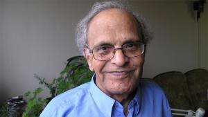 الكاتب العراقي فاضل العزاوي.  Foto: Lewis Gropp/DW