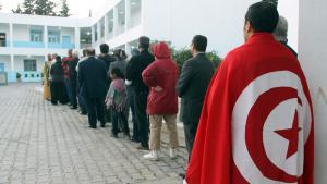 صورة رمزية ... الانتخابات في تونس. Foto: picture-alliance/dpa