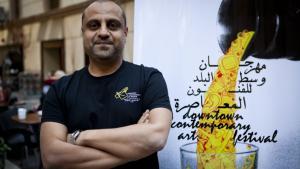 Foto: Studio Emad Eddin Foundation (SEE) المخرج والمؤلف المسرحي والمنتج أحمد العطار