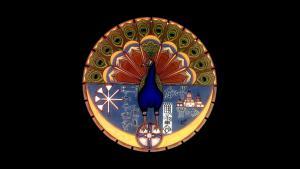 رمز الطائفة الإيزيدية. Quelle: wikipedia