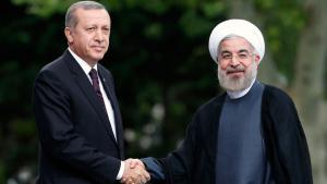 لقاء بين إردوغان وروحاني في أنقرة في يوليو/ تموز 2014. (photo: Reuters)