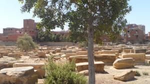 المقبرة اليهودية في الجزء الجنوبي من القاهرة. (photo: DW/W. El Attar)