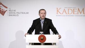 الرئيس التركي أردوغان بتاريخ 24 / 11 / 2014 في اسطنبول.(photo: picture-alliance-abaca)