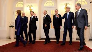 اجتماع مجموعة 5 + 1 وإيران في إيران بتاريخ 24 / 11 / 2014. Foto: dpa/picture-alliance