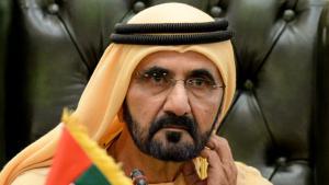 ;  محمد بن راشد آل مكتوم، نائب رئيس الإمارات العربية المتحدة ورئيس وزرائها وحاكم دبي.Foto: picture alliance/Photoshot