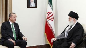إردوغان وخامنئي في طهران. Foto: Mehr