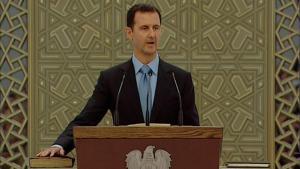 الرئيس السوري بشار الأسد. Foto: Reuters/Syria TV