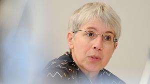 الباحثة الألمانية في العلوم الإسلامية غودرون كريمر. Foto: picture-alliance/dpa/J. Stratenschulte