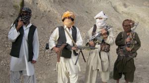 طالبان في مقااطعة هيلمند. Foto: dpa/picture-alliance