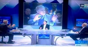 لقطة من البرنامج في القناة الثانية ، صورة تلفزيونية