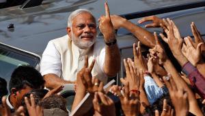 رئيس الوزراء القومي الهندوسي ناريندرا. Foto: Reuters