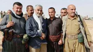 قائد قوات فيلق القدس بالحرس الثوري الإيراني الجنرال قاسم سليماني