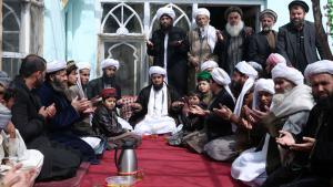 صوفيون أفغان أثناء الدعاء. Foto: picture-alliance/AP Photo/Masso