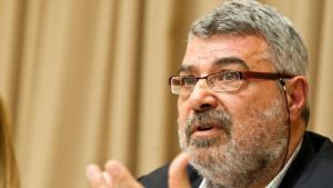 الباحث الفلسطيني-الأردني المختص في العلوم السياسية رامي جورج خوري . Foto: AP