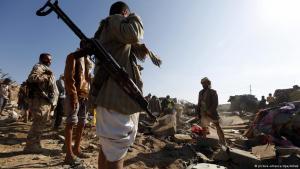 القتال في اليمن. Foto: picture-alliance/dpa/Arhab