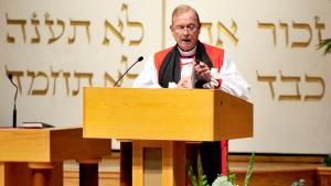 الأسقف جون بريسون تشين. Quelle: picture-alliance/dpa/Ron Sachs