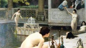 لوحة للرسام والنحات الفرنسي جان ليون جيروم. Quelle: wikipedia