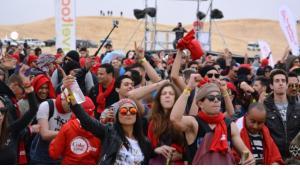 """مهرجان """"الكثبان الإلكترونية"""" للموسيقى الإلكترونية في تونس. Foto: Jannis Hagmann"""