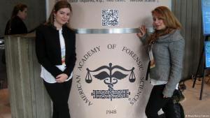 ;  مايا ونانسي قضتا عامين في سجن رومية شرق بيروت للتعرف على أسباب انضمام المتهمين إلى الجماعات الإسلامية المتشددة. Foto: privat