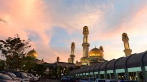 أحد مساجد سلطنة بروناي. Foto:REUTERS/Ahim Rani
