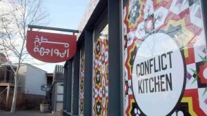 """""""مشروع """"مطبخ الصراع والمواجهة"""" - في مدينة بيتسبورغ في ولاية بنسيلفانيا بالولايات المتحدة الأمريكية. Foto: dpa"""