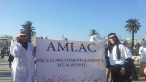 مظاهرة ضد تجريم الإجهاض في المغرب. Foto: privat
