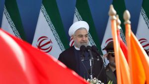 الرئيس الإيراني حسن روحاني. Foto: picture-alliance/epa/A. Taherkenareh
