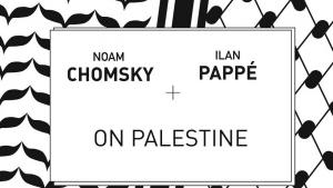"غلاف كتاب: نعوم تشومسكي وإيلان بابيه في حوار ""حول فلسطين"" Verlag Haymarket Books"