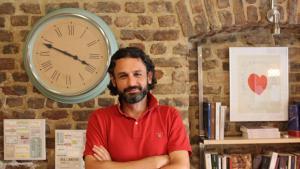 سامر القادري. Foto: Ekrem Güzeldere