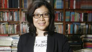 الكاتبة الإندونيسية ليندا كريستانتي. Foto: Muhammad Ali