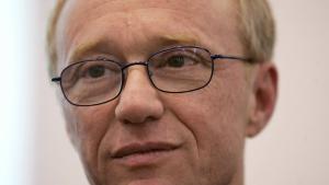الكاتب الإسرائيلي دافيد غروسمان. Foto: AFP