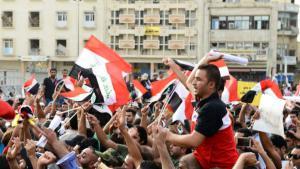 تظاهرات حاشدة في العراق تطالب باصلاح النظام السياسي الطائفي الفاسد