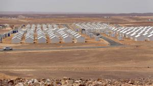 Flüchtlingslager Azraq in der jordanischen Wüste; Foto: World Vision/ R. Neufeld