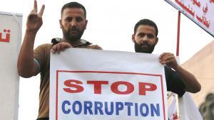 احتجاجات شيعية ضد الفساد وسوء الإدارة والطائفية في العراق: Foto: Reuters/T. Al-Sudani