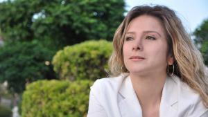 الكاتبة السورية سمر يزبك (photo: Deutsche Welle/Manaf Azzam)