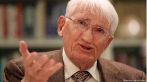 الفيلسوف الألماني يورغن هابرماس (photo: picture-alliance/dpa)