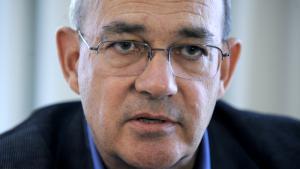 المؤرخ الإسرائيلي توم سيغِف. Foto: picture-alliance/APA/HANS KLAUS TECHT