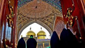 مرقد الإمام الكاظم وابنه الإمام الجواد