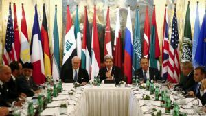 اجتماع فيينا الهادف لإنهاء الصراع السوري. (photo: Reuters)