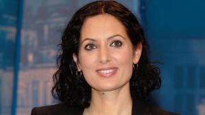 الباحثة في شؤون الهجرة نايكا فوروتان. Foto: picture-alliance/ZB