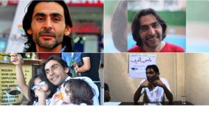 صورة للصحفي ناجي الجرف مأخوذة من حسابه على الفيس بوك