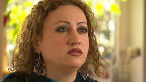 الكاتبة السورية روزا ياسين. Foto: DW