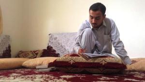الكاتب الأفغاني تقي أخلاقي. Foto: ARD