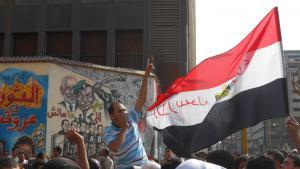مظاهرة احتجاجية في شارع محمد محمود في القاهرة. 12 / 10 / 2012. Foto: Sofian Philip Naceur