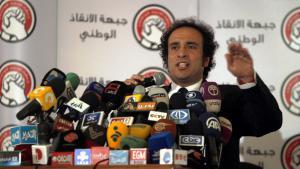 عمرو حمزاوي عام 2012. Foto: picture-alliance/dpa
