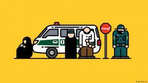 """""""غيرشاد"""" تطبيق لتفادي قسوة """"شرطة الأخلاق"""" في إيران"""