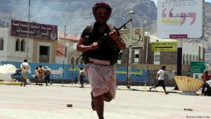 مقاتل يمني.