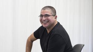 الكاتب المغربي ماحي بينبين. Foto: imago/El Mundo