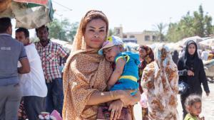 امرأة من الأقلية الأفريقية في إيران.; Foto: Mahdi Ehsaei